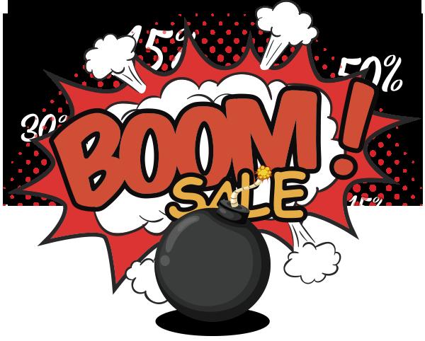 Boom Sale - Descuentos Mayo 2019